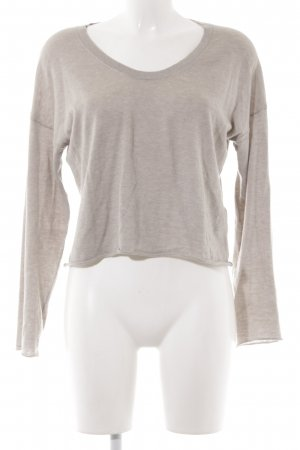 Allude Cashmerepullover beige Casual-Look