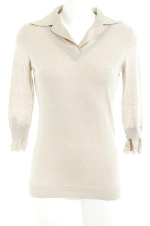 Allude Cashmerepullover beige Elegant