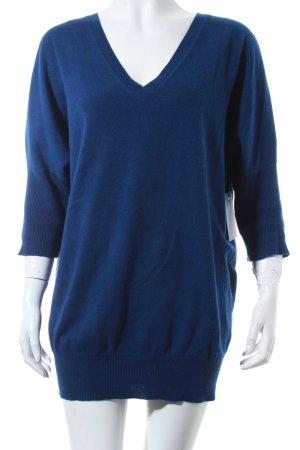 Allude Cashmerepullover blau Kuschel-Optik