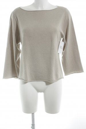 Allude Cashmerepullover camel Casual-Look