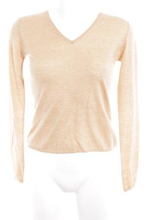 Allude Pullover in cashmere color cammello stile casual