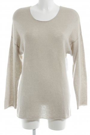 Allude Pullover in cashmere color cammello stile casual
