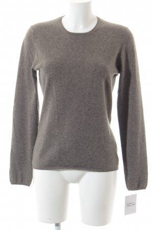 Allude Cashmere Jumper grey brown cashmere