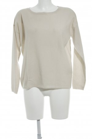 Allude Cashmerepullover hellbeige Casual-Look