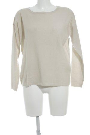 Allude Pullover in cashmere beige chiaro stile casual
