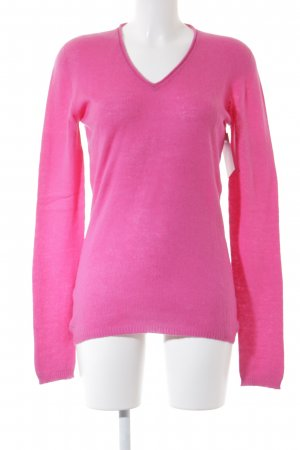 Allude Cashmerepullover pink Casual-Look