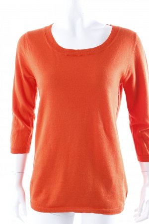 Allude Kaschmir-Pullover in orange