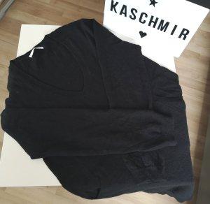 Allude Pullover in cashmere nero