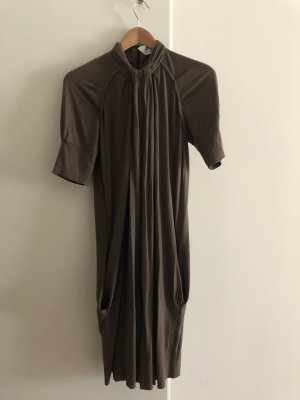Allude Robe fourreau marron clair