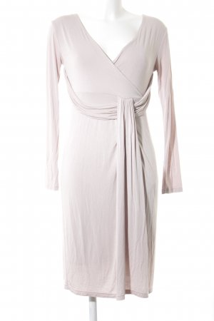Allude Longsleeve Dress oatmeal casual look