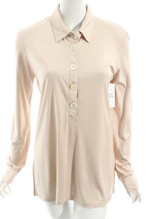 Allude Longshirt beige schlichter Stil