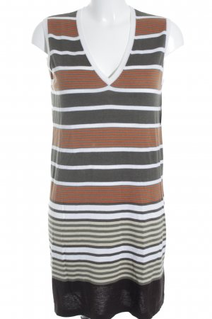 Allude Long Shirt striped pattern classic style