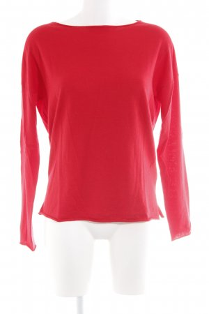 Allude Longsleeve red casual look
