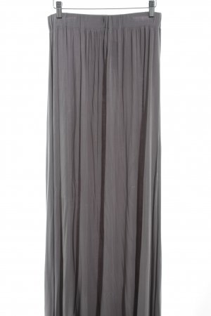 Allude Maxi Skirt grey casual look