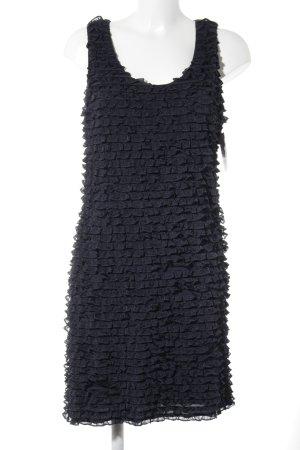 Allude Mini-jurk donkerblauw zakelijke stijl