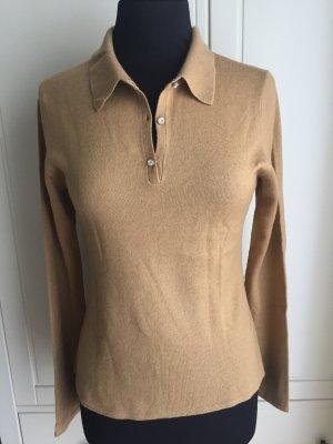 Allude Pullover in cashmere color cammello