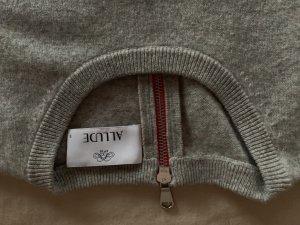 Allude Wool Sweater grey wool