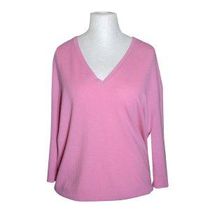 Allude Pullover aus Kaschmir, Rosa, Gr. L