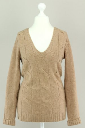 Allude Cashmere Jumper bronze-colored-light brown
