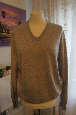 Allude Pullover in cashmere grigio