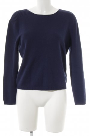 Allude Crewneck Sweater blue fluffy