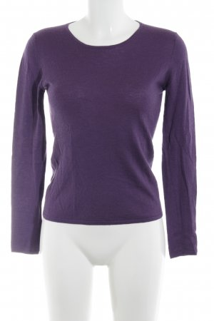 Allude Crewneck Sweater lilac casual look