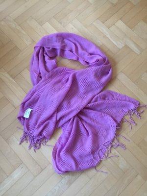 Allude Schal Tuch pink ungetragen 212cmx85cm