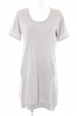 Allude Shirt Dress light grey casual look