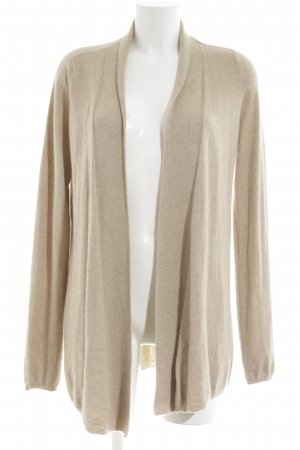 Allude Strick Cardigan creme meliert Casual-Look