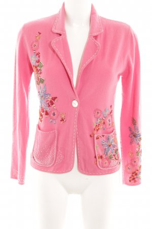 Allude Cardigan in maglia motivo floreale stile semplice