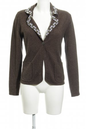 Allude Knitted Cardigan brown elegant