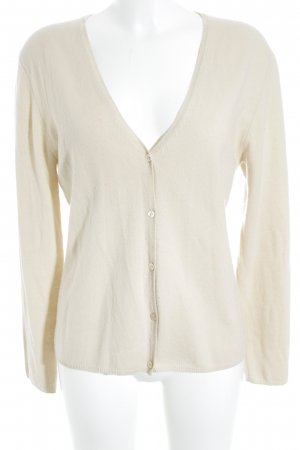 Allude Strick Cardigan creme Casual-Look