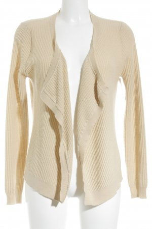 Allude Knitted Cardigan nude casual look