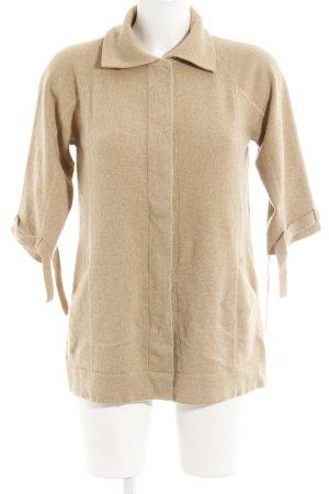 Allude Giacca in maglia beige stile casual