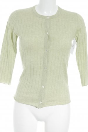 Allude Cardigan pale green fluffy