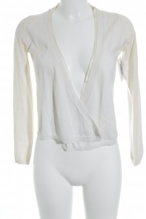 Allude Cardigan cream simple style