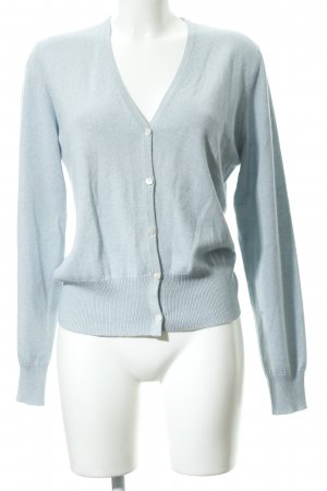 Allude Cardigan light blue fluffy