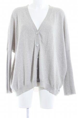Allude Cardigan light grey fluffy