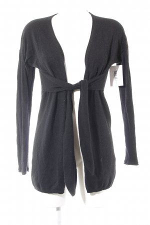 Allude Cardigan black casual look