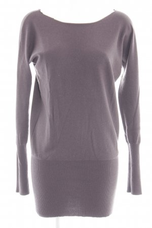 Allude Strickkleid lila Casual-Look