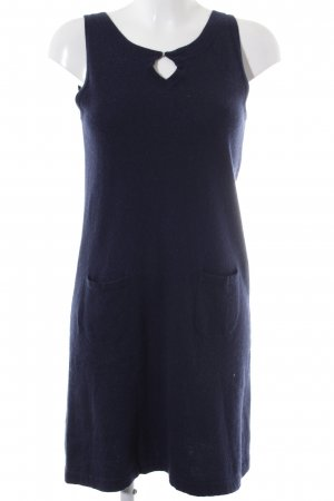 Allude Knitted Dress dark blue casual look