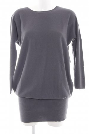 Allude Knitted Dress light grey casual look