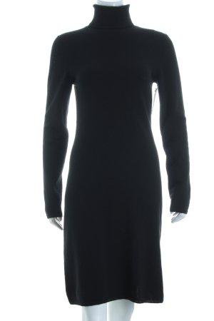Allude Strickkleid schwarz minimalistischer Stil