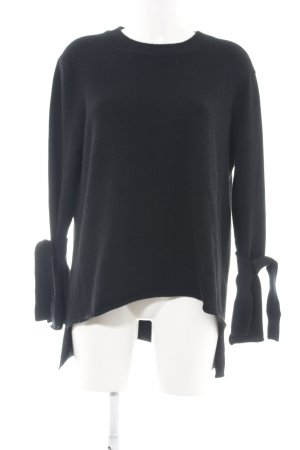 Allude Knitted Sweater black casual look