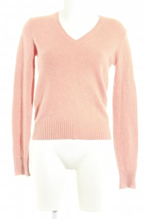 Allude Strickpullover apricot Casual-Look