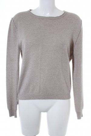 Allude Strickpullover beige Casual-Look