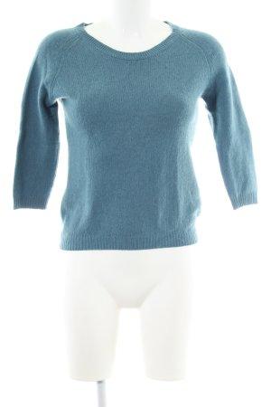Allude Maglione lavorato a maglia turchese stile professionale