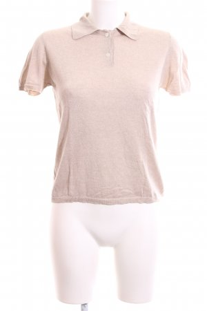 Allude Strickshirt nude Casual-Look