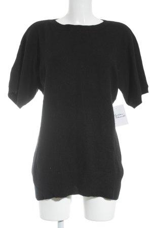 Allude Strickshirt schwarz klassischer Stil