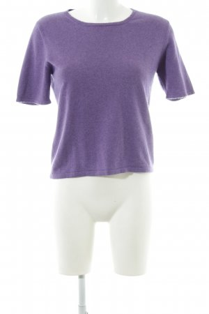 Allude T-Shirt lila Casual-Look